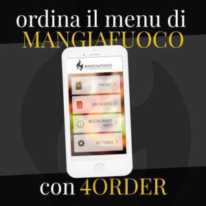 Ordina il menu di Mangiafuoco con 4order